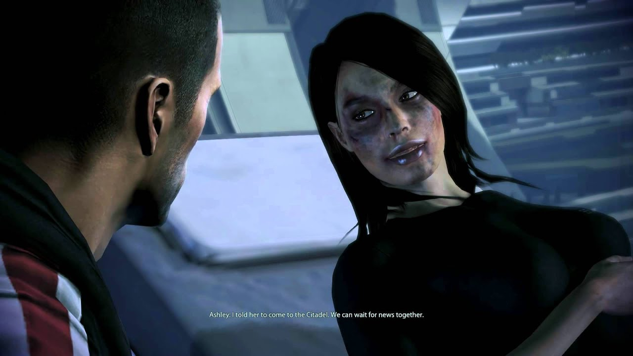 mass effect how to make a good looking female shepard