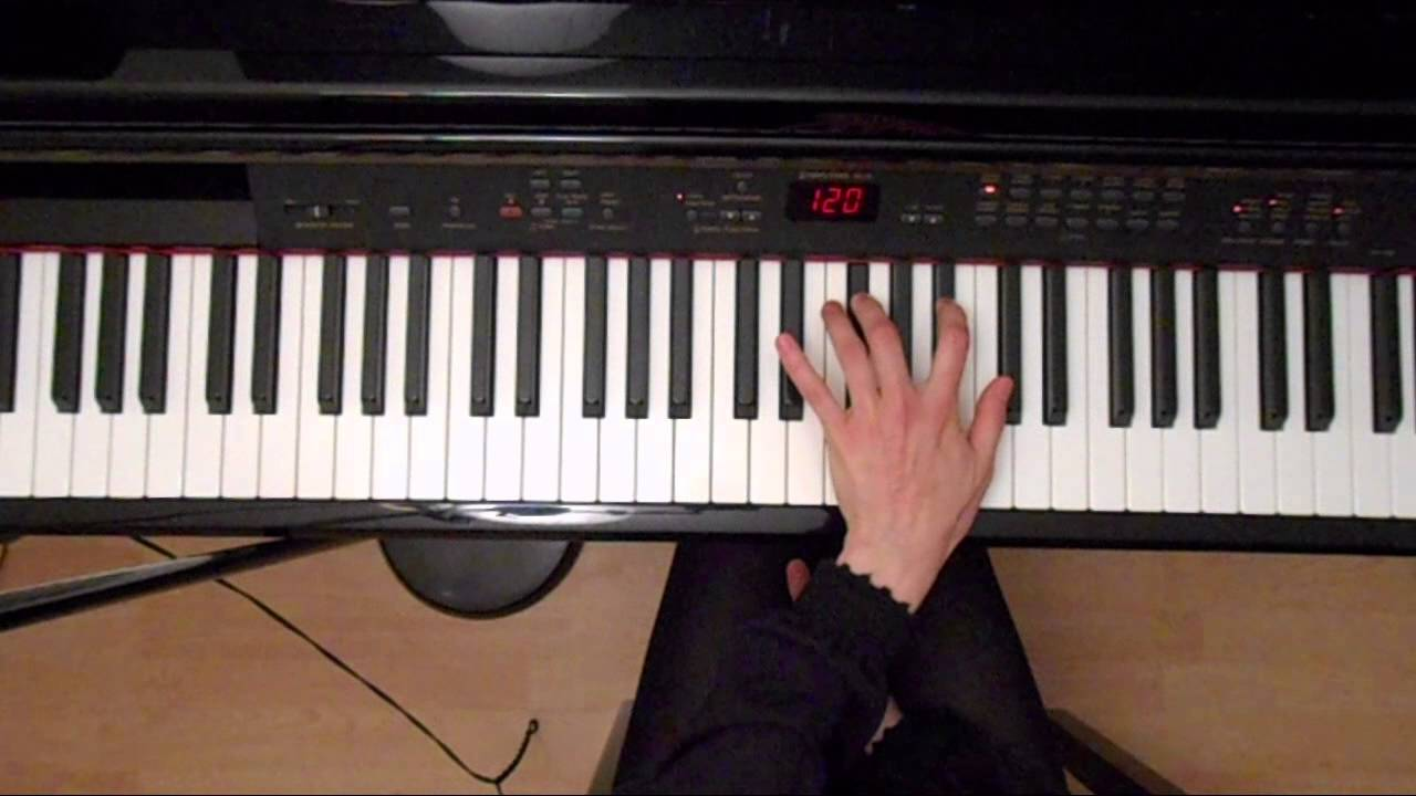 Online piano lessons f major broken chords left hand youtube hexwebz Images