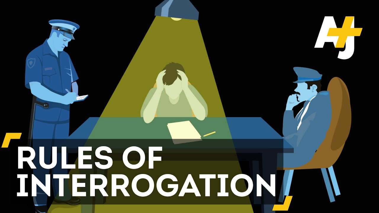 What Can Police Do During An Interrogation? - YouTube