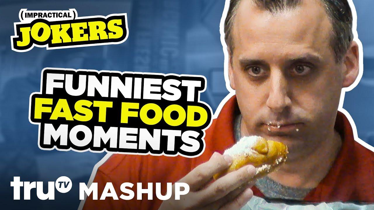 Impractical Jokers: Funniest Fast Food Moments (Mashup) | truTV