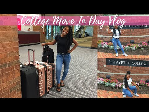 College Move In Day | International Student