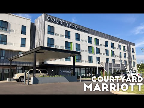 The Russellville, Arkansas Courtyard Marriott Hotel Room - Newest In The Arkansas River Valley