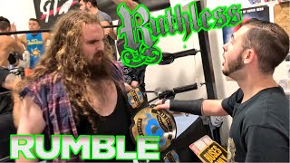 TRIBUTE RUMBLE CHALLENGE GONE WRONG! AWKWARD MOMENT WHEN HE MESSED UP!