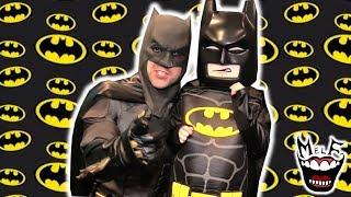 Batman Sings to Little Batman