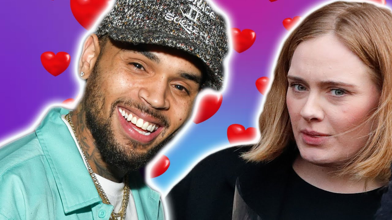 Adele Y Chris Brown Estan Saliendo Nuevo Album De Adele Youtube