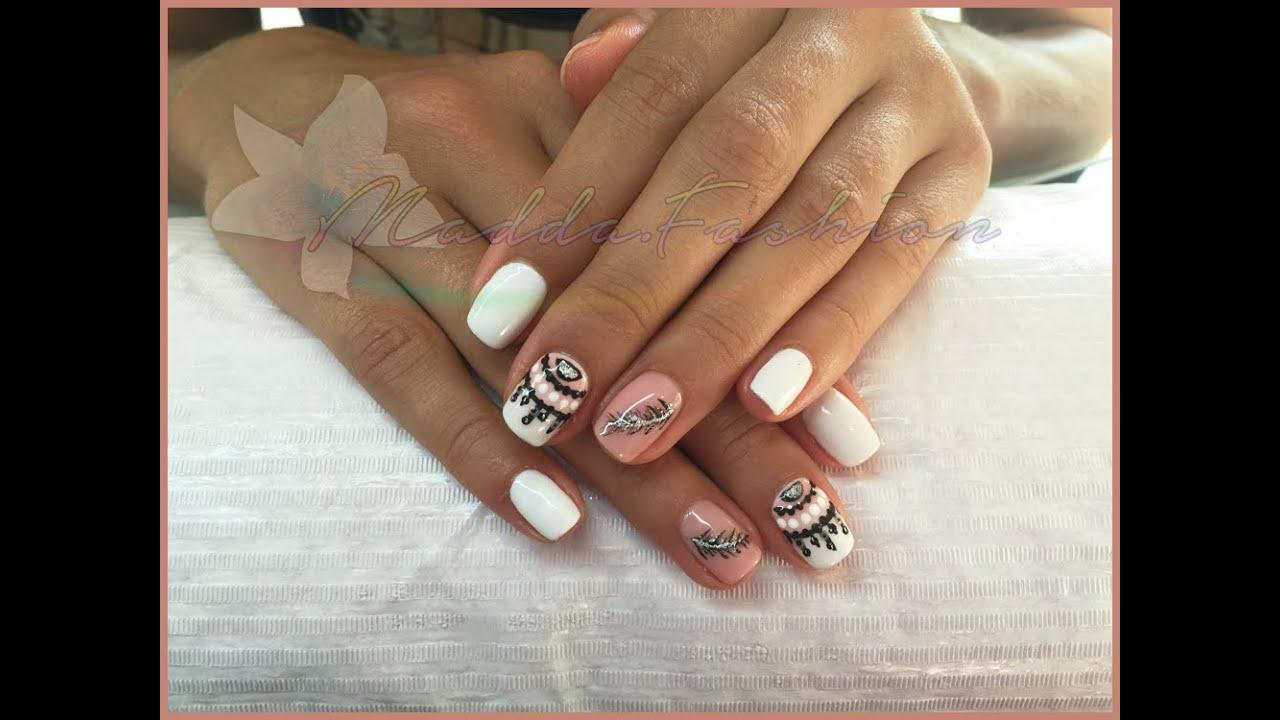 Semipermanente mesauda applicazione nail art e rimozione for Decorazione e applicazione unghie finte