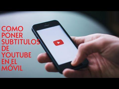 Como Poner Subtitulos de ingles a español en Youtube en celular