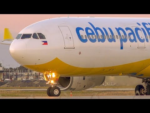 Stunning INAUGURAL Cebu Pacific Landing & Take off | Melbourne Airport Plane Spotting