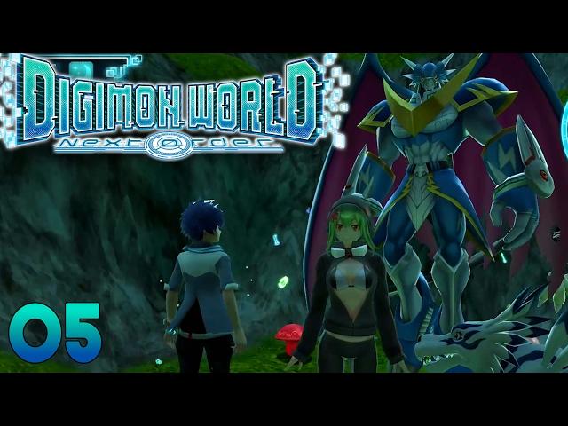 Digimon World Next Order Part 5 - ULFORCEVEEDRAMON Gameplay Walkthrough
