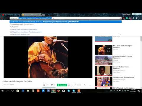 How to download MP3 music file from YouTube