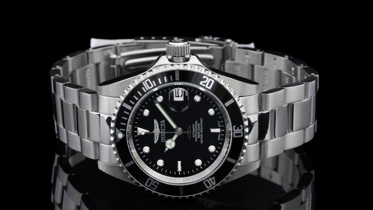 Invicta 8926ob 40mm pro diver automatic silver rotor - 40mm dive watch ...