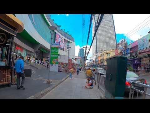 walkingtour-bangkok-2020-bts-saphantaksin-food-street-charoenkrung-4k