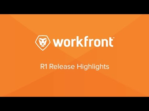Workfront R1 2017 Feature Demo