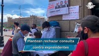 Este jueves, la Suprema Corte de Justicia de la Nación dio a conocer que el ministro Luis María Aguilar Morales consideró inconstitucional la propuesta de consulta para enjuiciar a cinco ex presidentes
