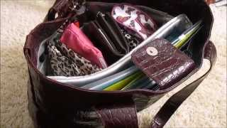 What Is In My Bag/ How I Organize My Bag/Purse