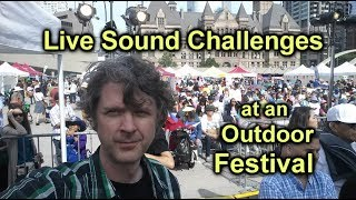 Live Sound Challenges at Festivals - How to Manage Live Sound Problems