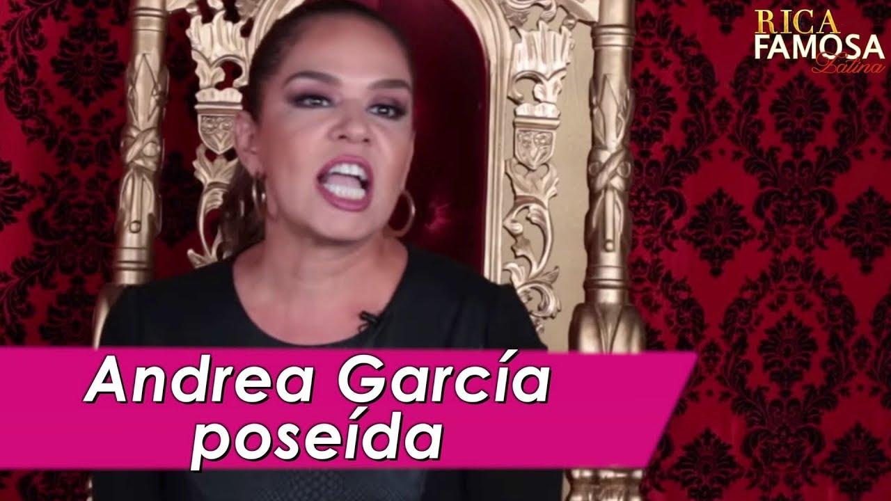 Andrea Garcia Videos andrea garcÍa ¿poseÍda? - rica famosa la crÍtica