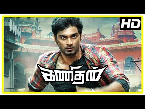 Kanithan tamil movie | Action scene | Atharva | Catherine | Tarun | Karunakaran | Bhagyaraj
