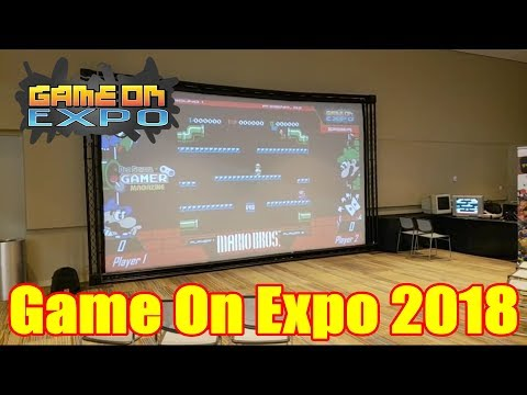 Game On Expo 2018: Live Video Tour | Retail Archaeology Livestream Archive