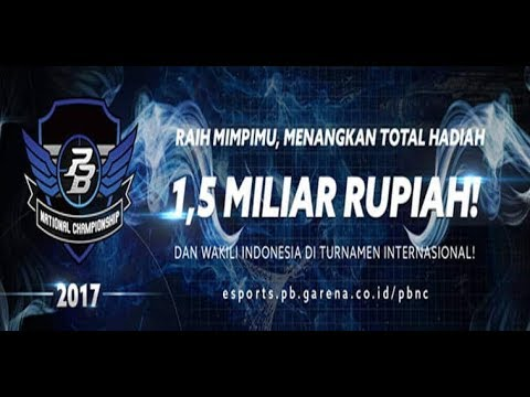 PBNC 2017 OPEN 1 JAKARTA | Day 2 | @Sentinel Cyber Arena | COMEBACK IS REAL