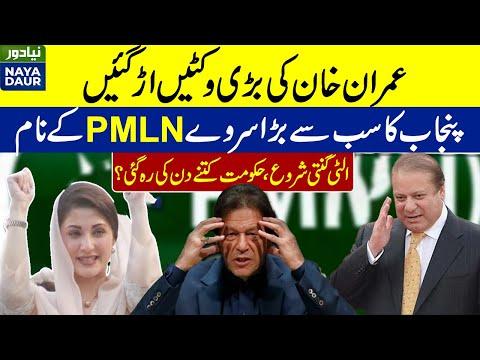 Imran Faces Major Setback In Punjab. PMLN Emerges On Top