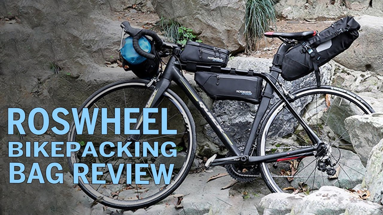 d8c75a557f6 A Full BIkepacking Bag set for $120!?! Roswheel Attack Series Review ...