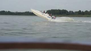 Copy of wyglupy motorowka fletcher gto yamaha 80hp outboard