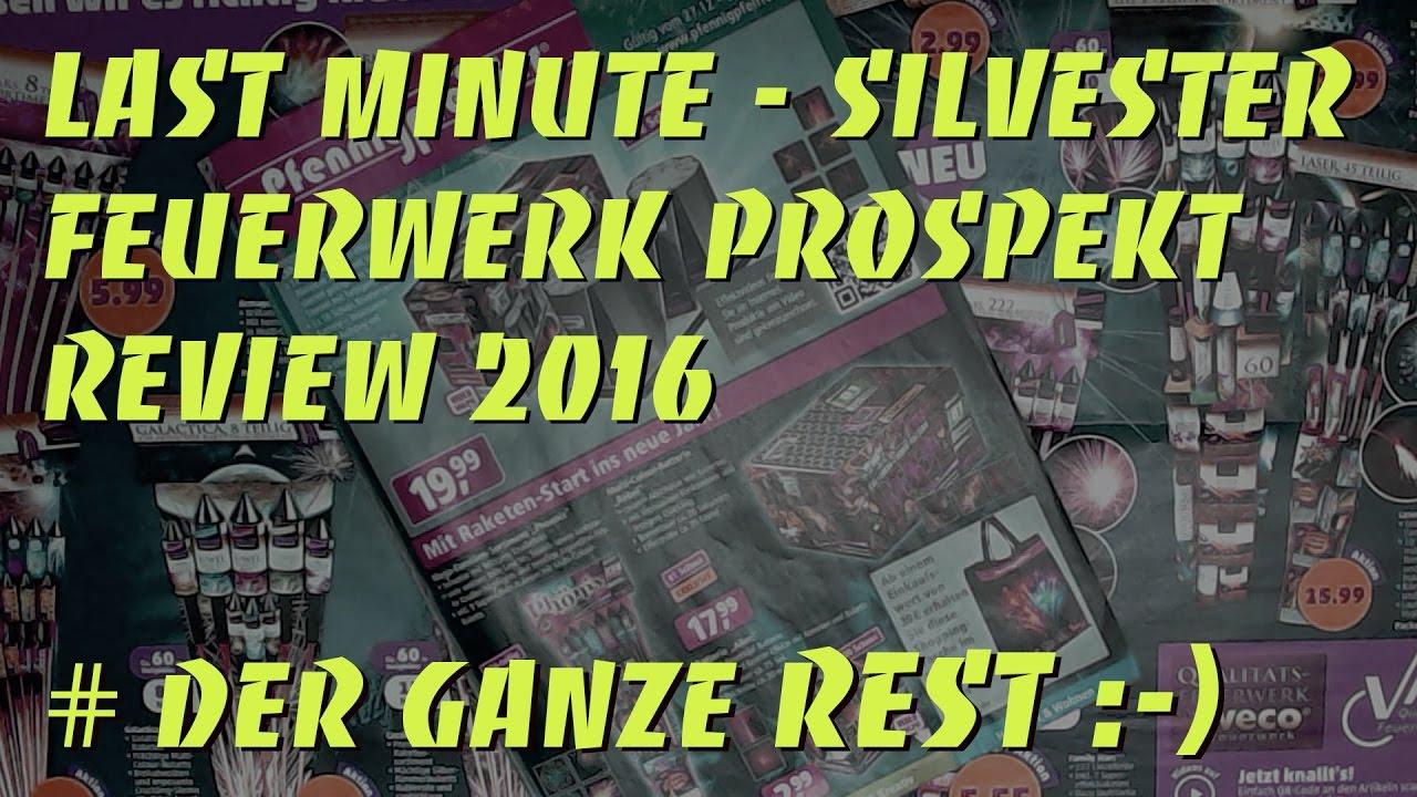 last minute bersicht silvester feuerwerk prospekt review 2016 2017 youtube. Black Bedroom Furniture Sets. Home Design Ideas