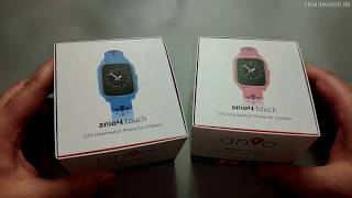 Gambar cover ANIO 4 TOUCH - Smartwatch.de Unboxing DEUTSCH