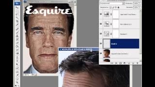 """Создать обложку журнала """"Esquire"""" в Photoshop"""