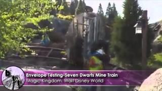 Seven Dwarfs Mine Train Envelope Testing at Magic Kingdom