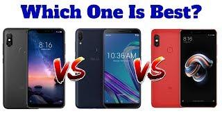 Xiaomi Redmi Note 6 Pro vs Xiaomi Redmi Note 5 Pro vs Asus Zenfone Max Pro M1 | Which One Is Best ??