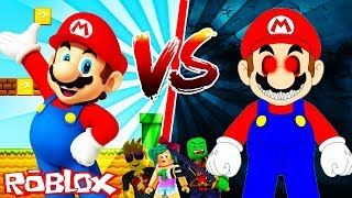 MARIO vs MARIO.EXE - ROBLOX