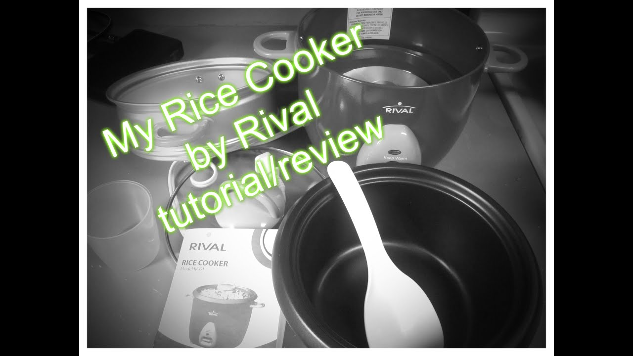 My Rice Cooker By Rival Review Youtube