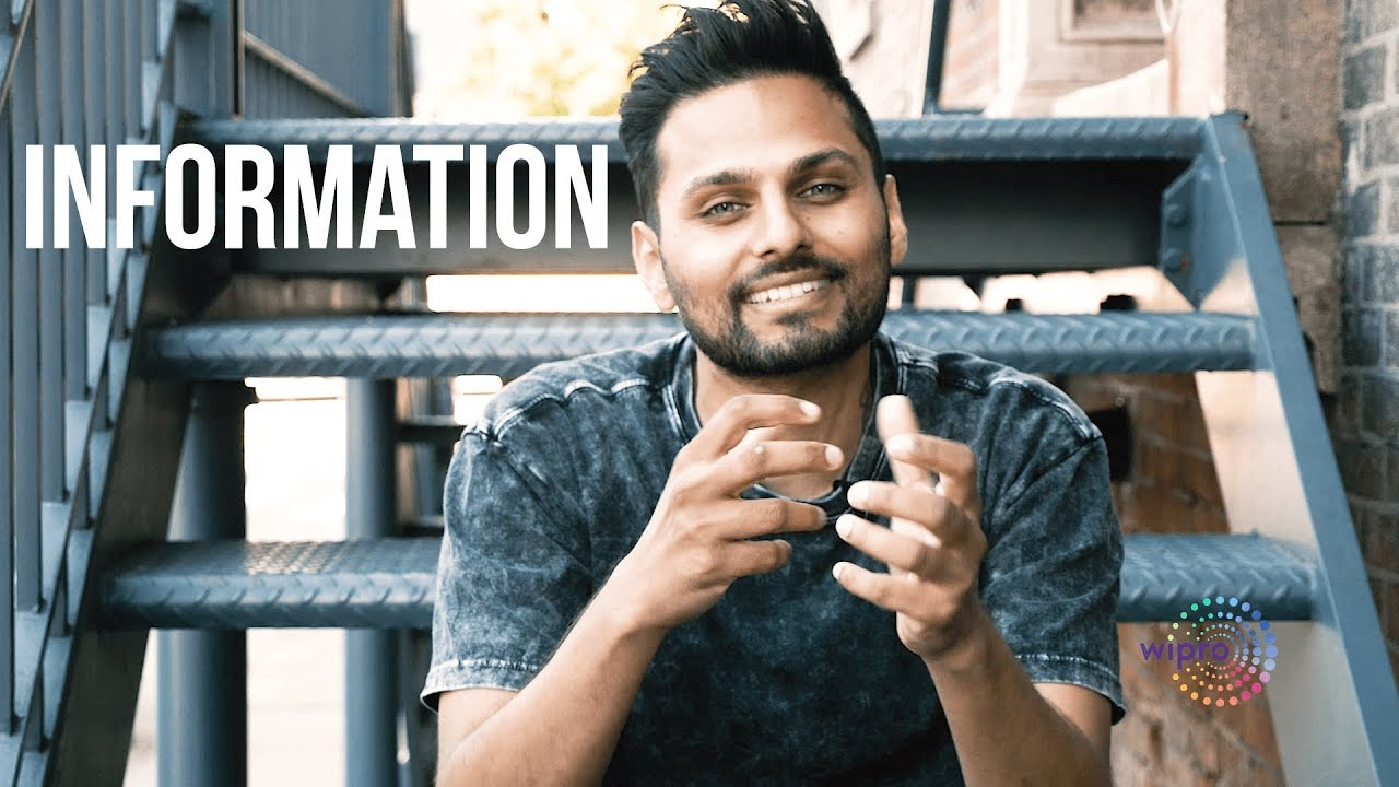 We're Drowning In Information - Technology Vs Humanity by Jay Shetty