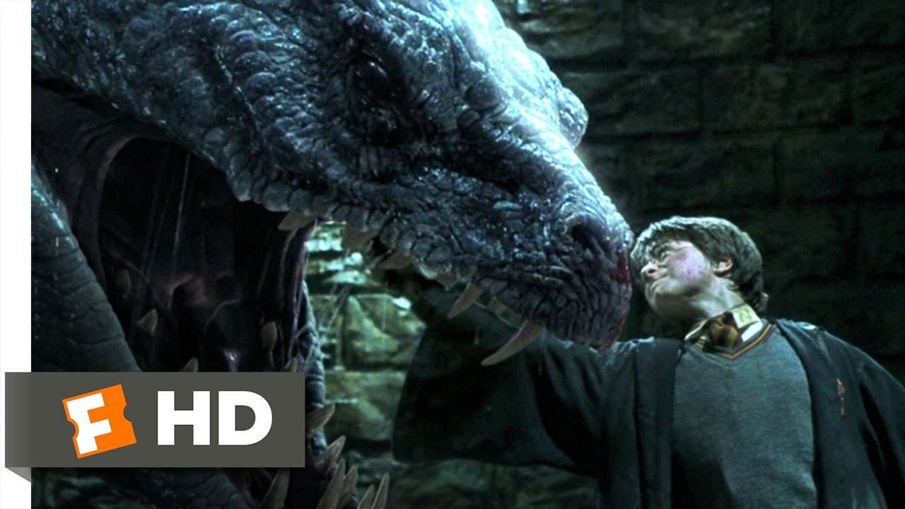 harry potter and the chamber of secrets movie clip harry potter and the chamber of secrets 5 5 movie clip basilisk slayer 2002 hd