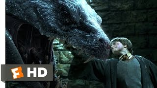 Harry Potter and the Chamber of Secrets (5/5) Movie CLIP - Basilisk Slayer (2002) HD