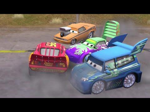 Disney Pixar Lightning McQueen Cars Movie Game  28 - Delinquent Road Hazards