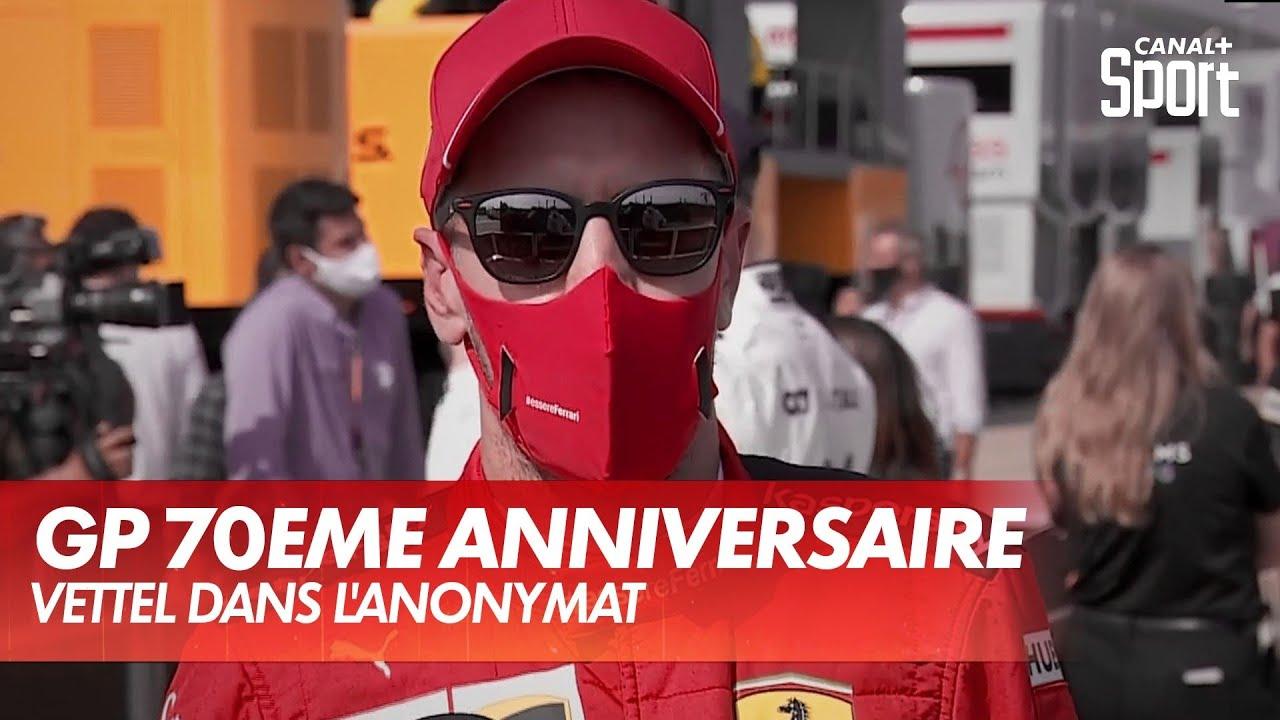 Vettel dans l'anonymat