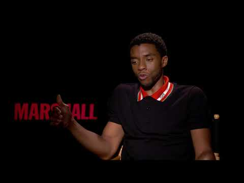 Marshall  || Chadwick Boseman Interview || SocialNews.XYZ
