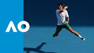 Yoshihito Nishioka vs Novak Djokovic - Match Highlights (3R) | Australian Open 2020 thumbnail