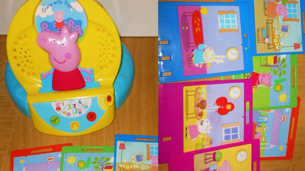 Peppa Pig Guess with Peppa learning toy Inspiration Works ...