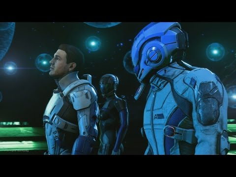 MASS EFFECT ANDROMEDA Gameplay Trailer Playstation 4 PRO Gameplay
