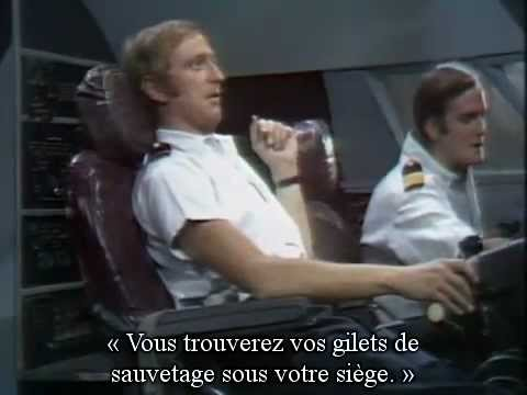 Monty Python (How to Irritate People) - Airplane Sketch VOSTFR (Les pilotes d'avion)