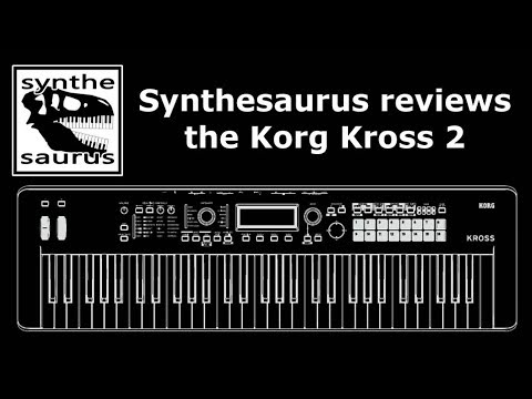 korg kross 2 61 quick review by synthesaurus youtube. Black Bedroom Furniture Sets. Home Design Ideas