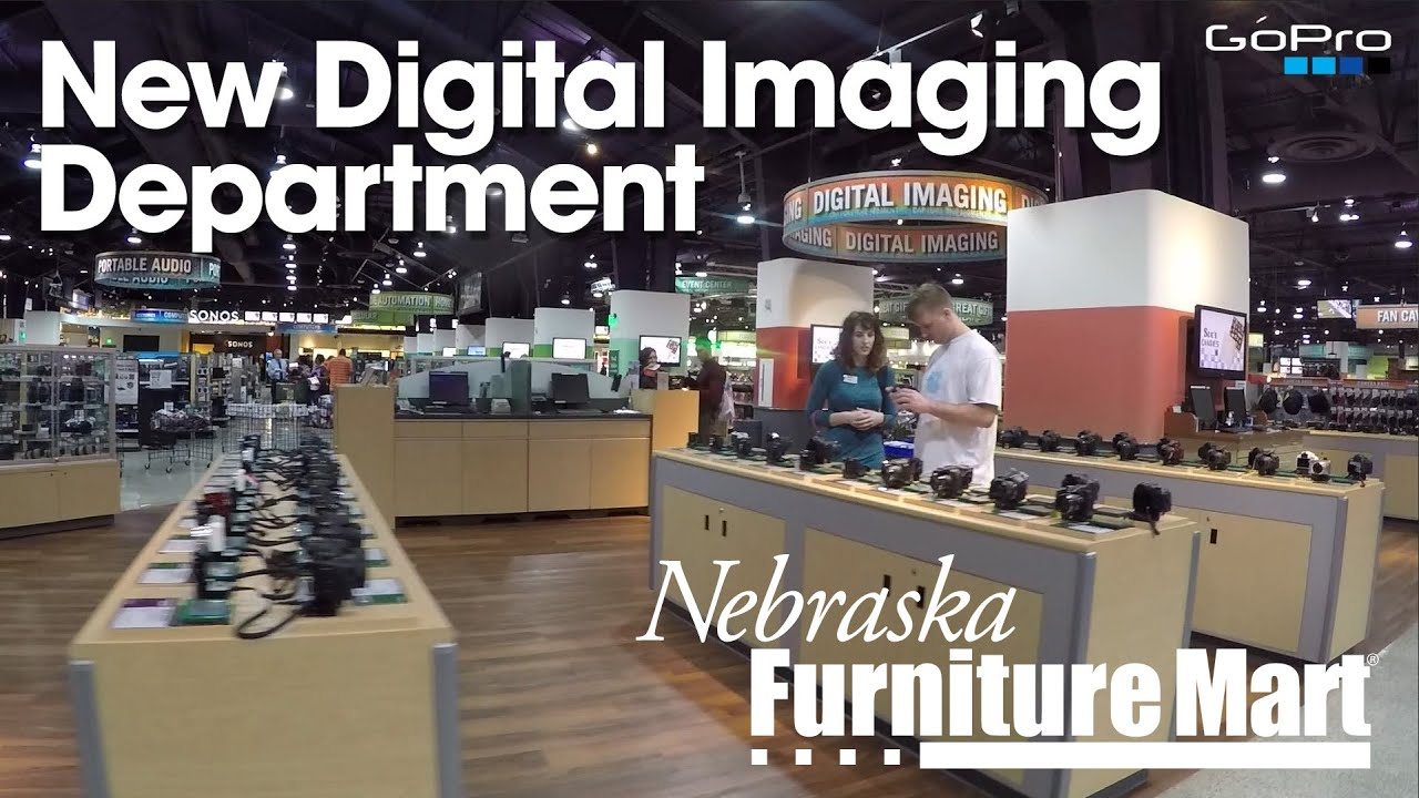 New Digital Imaging Department At Nebraska Furniture Mart At Our