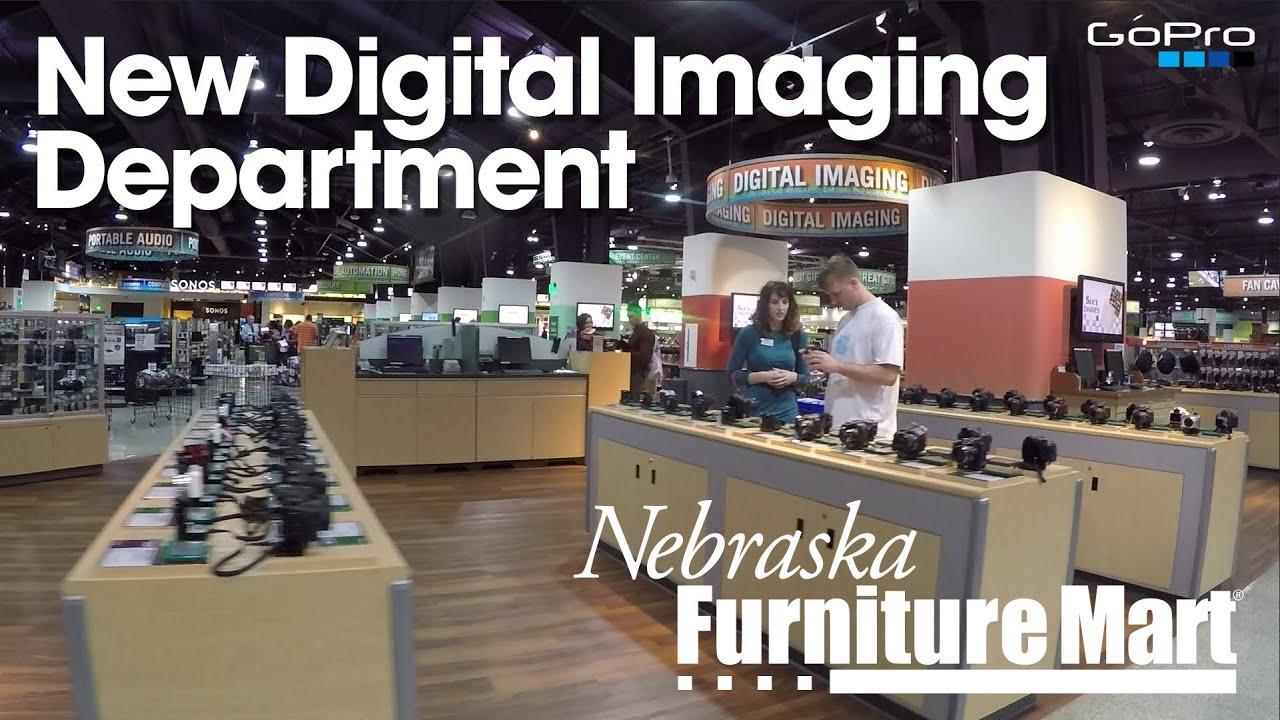New digital imaging department at nebraska furniture mart for Department stores that sell furniture