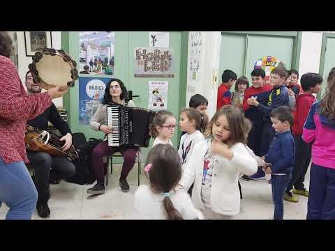 Concerto didáctico no Ceip Virxe do Corpiño de Begonte