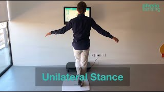 Unilateral Stance protocol | PhysioSensing