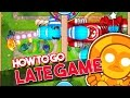 Bloons TD Battles  | HOW TO GO LATE GAME |  LATE GAME IN BTD